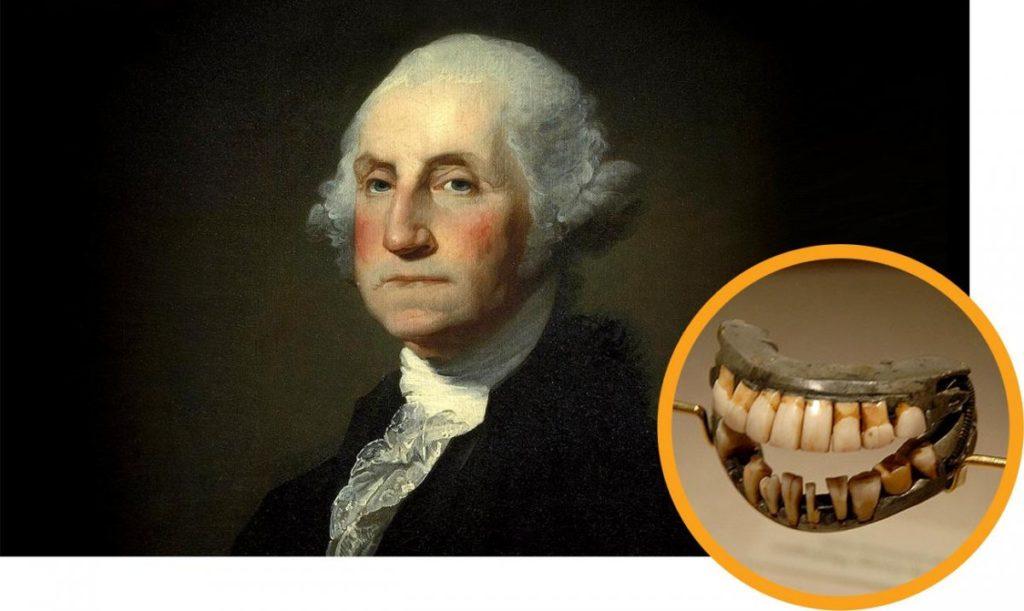 Президент США и его вставная челюсть