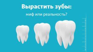 вернуть зубной ряд